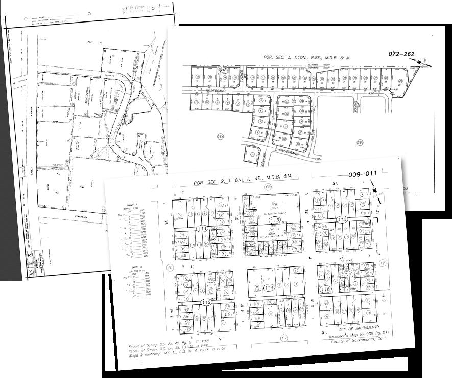 ParcelQuest Appraise - Features - APN Maps